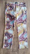 Just Cavalli  ITTIERRE / Roberto Cavalli Jeans / Amazing Colorful Patern Size 31