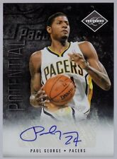 Paul George 11-12 Limited #31 Potential AUTO Indiana Pacers Fresno State 42/99