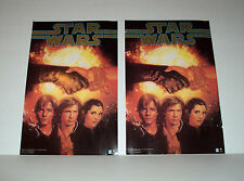 "STAR WARS RARE HEADER DISPLAY PROMO GIVEAWAY POSTERS ""THE TRUCE AT BAKURA"" BOOK"