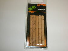 Fox Edges 6mm Corksticks 5pk Matériel de pêche à la carpe