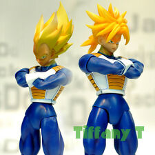 Dragonball Z Kai Vegeta + Trunks Head Ver2 Action Figure SHF S.H.Figuarts Toys