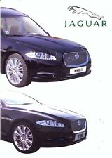 Jaguar XJ Hearse & Limousines by Wilcox UK market sales brochure