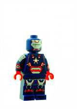 Custom Minifigure Ironman Patriot Superhero Avengers Printed on LEGO Parts