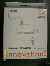 NEW Dreamcast RF TV Switch Coax Cable AV Audio Video SVHS S-Video Adaptor