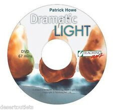 NEW! Dramatic Light Paint Eye-Catching Art in Watercolor & Oil Patrick Howe DVD