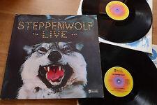 Steppenwolf Live 2lp Set ABC STEREO 27342 a1/b1 76 xbt