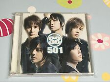 SS501 JAPAN VERSION 1ST ALBUM CD SS501     CA24