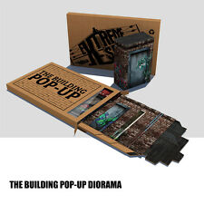 Action Figure 3d The Building Pop-Up Diorama for 6 to 7 inch action figures NEW!
