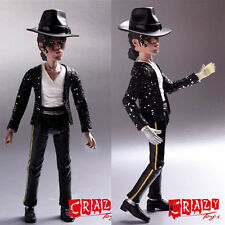 "Rare 8"" King Of Pop Michael Jackson Doll Action Figure Statue Gift New In Box"