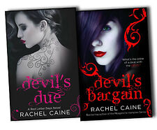 Rachel Caine Red Letter day Novel Devil's Bargain Devil's Due 2 Books Collection