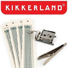 Kikkerland Mechanical Music Box Set 1200 DIY Kit Customizable Songs New