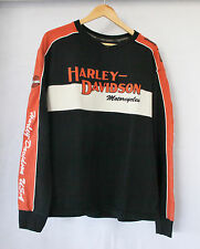 Harley Davidson MotorClothes Men's Long sleeve Prestige Sweater