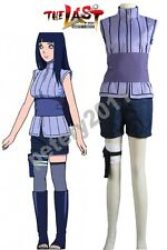 Custom-made Naruto The movie Hinata Hyuga Ninja Uniform Anime Cosplay Costume