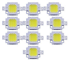 10Pcs DC 9-12V 10W Cool White High Power 800-900LM SMD LED Lamp Flood Light Chip
