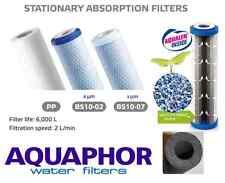 AQUAPHOR In line PP,5,1 mic Carbon Fibre Block Water Filter Cartridges 10-inch