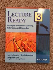 Strategies for Academic Listening, Note-Taking, and Discussion, Level 3 by Shall