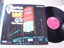 CATERINA VALENTE,LIVE AT THE TALK OF THE TOWN lp m-/vg+ decca rec. SLK16646-P