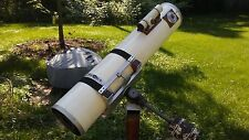 Custom 8 Inch Reflecting Telescope On Equitorial Mount