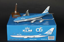 "KLM Boeing 747-400 ""95"" PH-BFH City of Hong Kong JC Wings 1:200 Diecast XX2348"