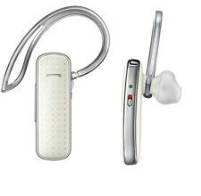 OEM Samsung Dolce Dual Mic Bluetooth Headset Leather White MN910 MN-910 HD Voice