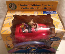RARE STARBUCKS LIMITED EDITION SERIES 1 BEARISTA GRAND ADVENTURE COIN BANK 2003