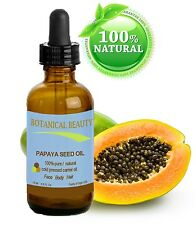 Botanical Beauty PAPAYA SEED OIL.100%Pure/Undiluted/RefinedColdPressed 0.5oz15ml