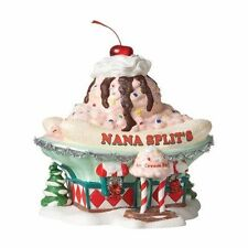 DEPT 56 NORTH POLE~NANA SPLITS ICE CREAM PARLOR SWEET SHOP  #4025283    * NEW *