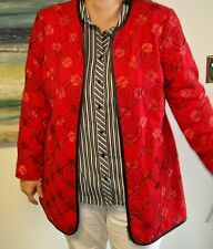 Womens Jacket by Peter Nygard Blazer Size 16 retails for over $250.00