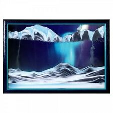 Sand Picture KB Bosch Movie Small Aurora Borealis Wall Art Office Executive Gift