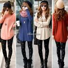 New Women's Casual Long Sleeve Knitwear Cardigan Long Jacket Coat Sweater Jumper