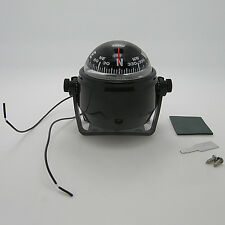 LED Light Marine Electronic Digital Compass 12V Boat Caravan Truck Compass