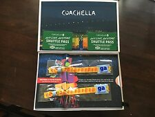 Coachella 2017 Weekend 1 2 GA Tickets with Shuttle Passes!