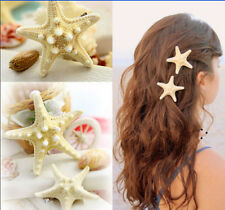 1pc Hot Womens Girls Sweet Nice Starfish Summer Beach Sea Star Hairpin Hair Clip
