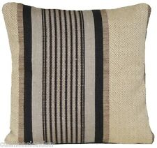 Stripes Cushion Cover Woven Fabric Throw Pillow Case Osborne & Little Material