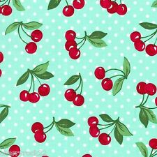 Michael Miller CHERRY DOT Polka Dot Fabric - Mint