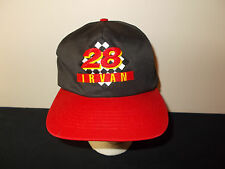 VTG-1990s Texaco Havoline Oil Ernie Irvan #28 Racing NASCAR hat sku7