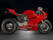 Red Fairing Bodywork Cowl kit Injection For Ducati 1199 Panigale 2012-2014 2013
