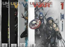 ULTIMATE WAR #1-#4 SET (NM-) MARVEL COMICS, ULTIMATES VS. ULTIMATE X-MEN