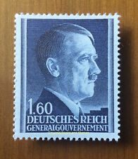 EBS Generalgouvernement 1944 Adolf Hitler 1.60 Zloty MNH Michel 88B**