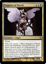 MAGISTER OF WORTH Conspiracy MTG Gold Creature — Angel Rare