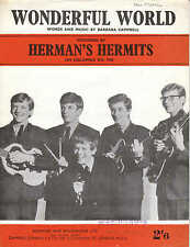 Wonderful World-Herman's Hermits - 1960 Partituras