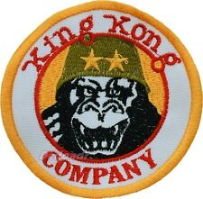 King Kong Company Embroidered Patch Taxi Driver Replica Travis Bickle Jacket
