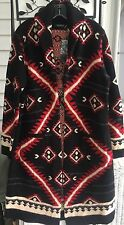 NWT $425 LAUREN RALPH LAUREN SOUTHWEST INDIAN BLANKET CARDIGAN SWEATER COAT S
