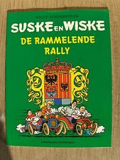 Suske en Wiske de Rammelende Rally met groene omslag 2002