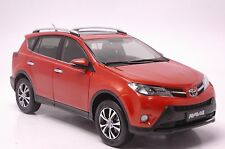 Toyota RAV4 2013 SUV model in scale 1:18 orange