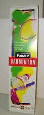 Vintage 1993 Forster Badminton Set 4 Player New In Box Bright Colors Family