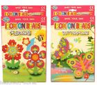 MAKE YOUR OWN IRON ON BEAD ART ACTIVITY KIDS CRAFT SET STOCKING FILLER GIFT NEW