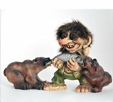 Nyform Norway Troll with Bears, Limited Edition, Large Figure NEW