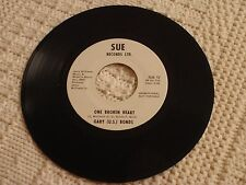 GARY U S BONDS  ONE BROKEN HEART/I CAN'T USE YOU IN MY BUSINESS SUE 17 PROMO