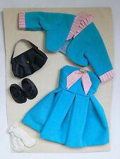 Vintage Bella Cathy Cathie Poupée Vêtements Outfit Fashions Party Dress 1960's